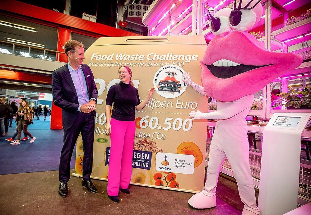 De bekendmaking van de resultaten van de Food Waste Challenge