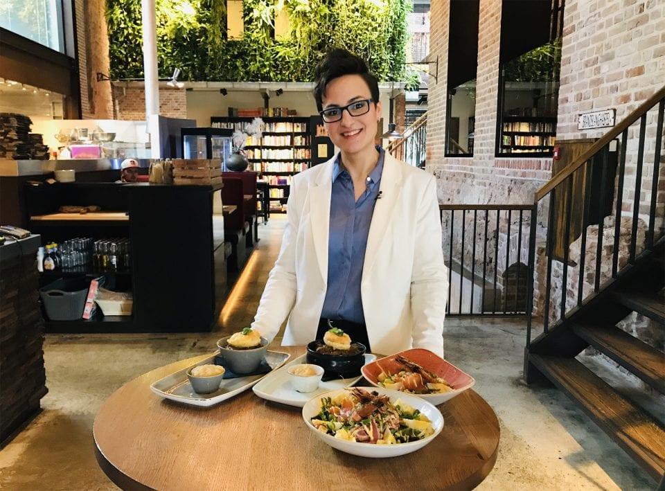 Sandra de Blaeij hele en halve gerechten in Slot Oostende Goes